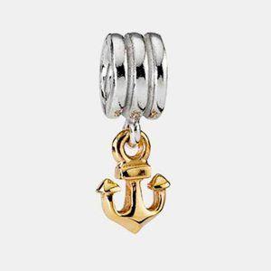 🌀Pandora dangle anchor charm